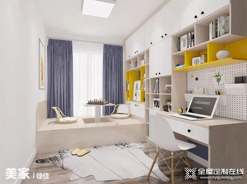 维意定制5种书房设计 打造一个专属的学习办公区