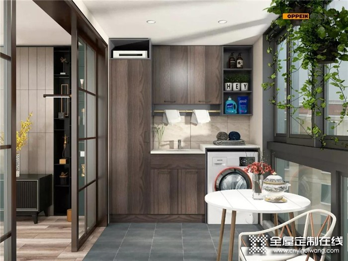 欧派带来3个阳台设计案例,打造为多功能空间