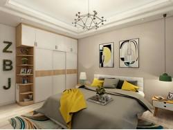 柯瑞尼全屋定制--北欧风格卧室衣柜