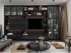 爱就爱全屋定制客厅电视厅柜 | 极简风格