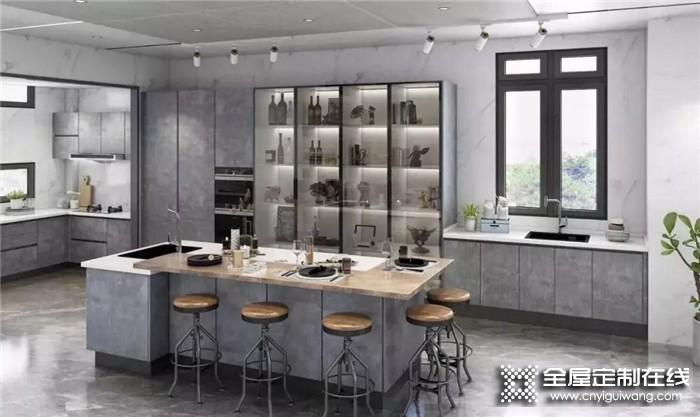 索菲亚带来橱柜效果图,让厨房空间成为一种艺术