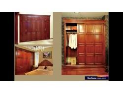 动动佳定制之家实木衣柜系列