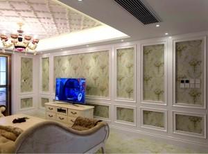 动动佳定制之家实木护墙板装修效果图