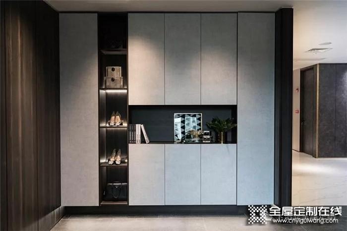 卡诺亚一体化的无把手柜子设计,简单而不是质感