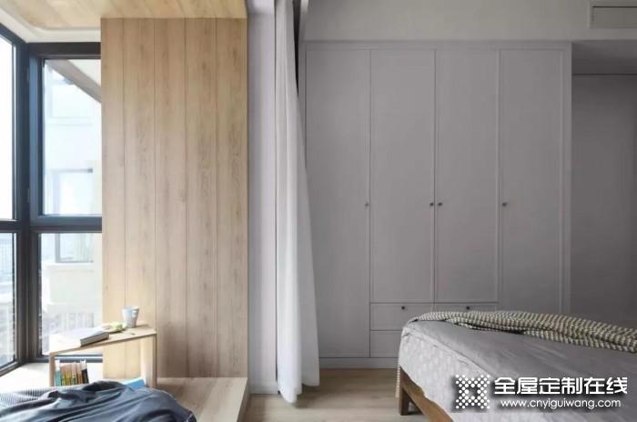 艾雅格定制衣柜卧室衣柜装修效果图