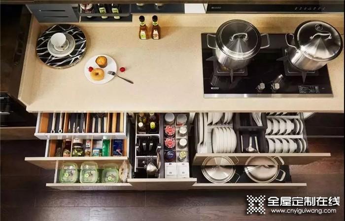 欧派带来设计橱柜的5点小细节,让你家厨房更好用