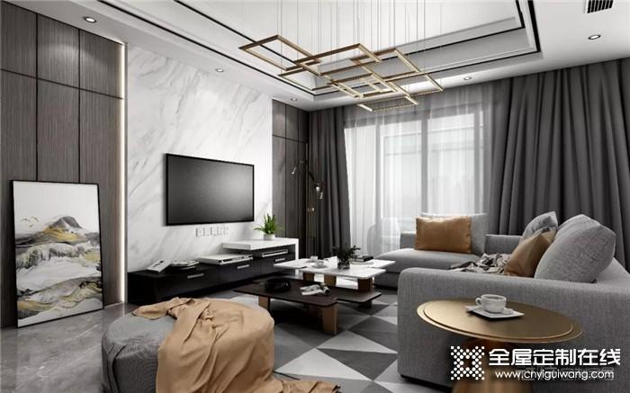 冠特打造颜值与收纳并存的电视柜,满足不同家庭的需求