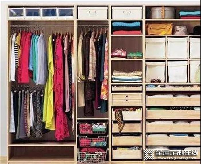 衣柜总是乱七八糟的怎么办?教你如何打理懒人衣柜!