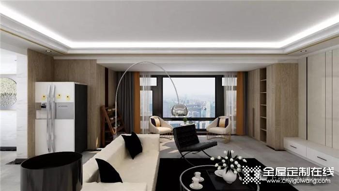 卡诺亚全屋定制极简风,打造家居的高级感
