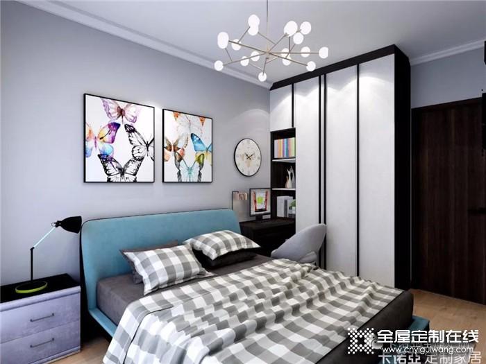 卧室怎么装才能看上去更宽敞?卡诺亚全屋定制教你一招