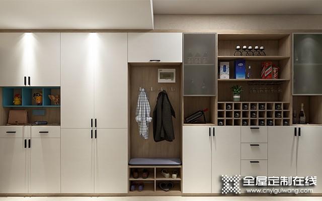 联邦高登餐边酒柜装修效图,将餐边柜和酒柜合二为一