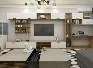 联邦高登N种电视柜装修图,美化客厅更好用