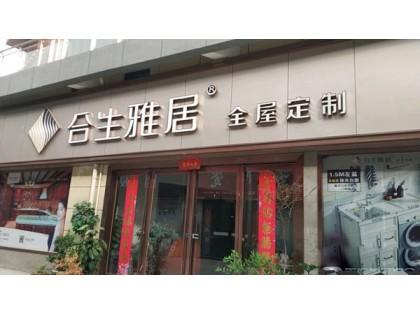 合生雅居全屋定制洛阳伊川县专卖店