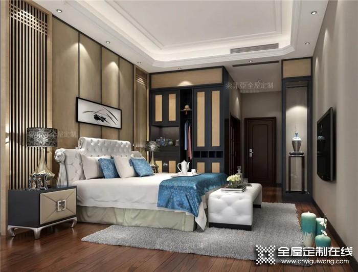 索菲亚分享的火爆朋友圈的新中式配色方案,你家也能装!