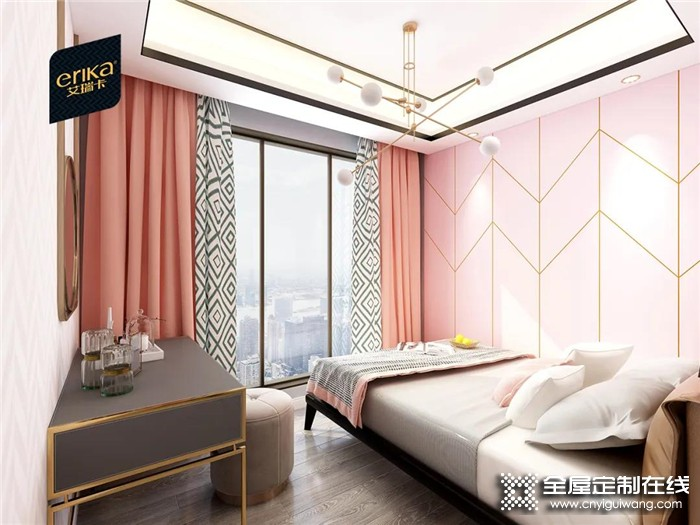 艾瑞卡高级灰系列打造轻奢居所,诠释浪漫与精致的品味家