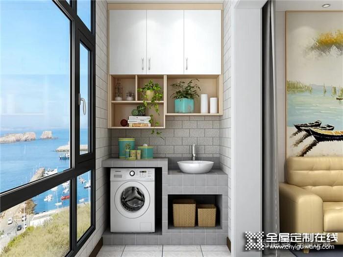 诗尼曼给你打造实用又美观的阳台空间,邻居看了都羡慕!