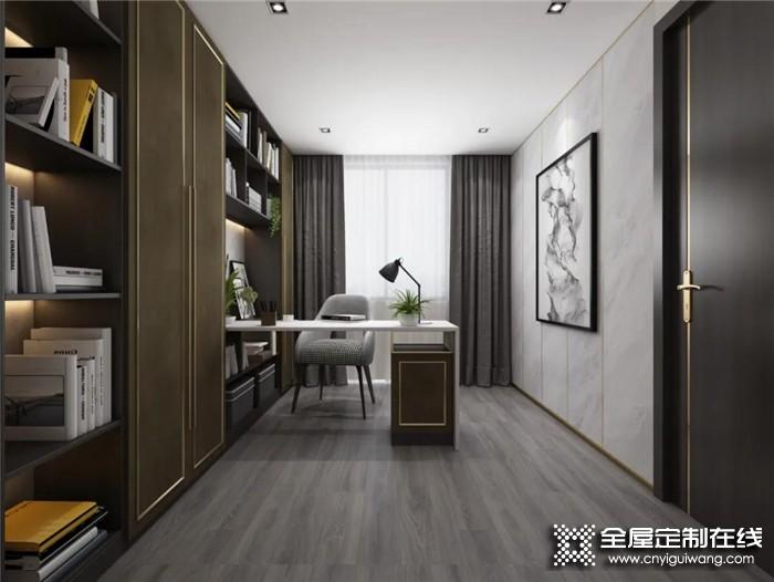 小户型也想要书房?亚丹超实用卧室书房设计满足你!