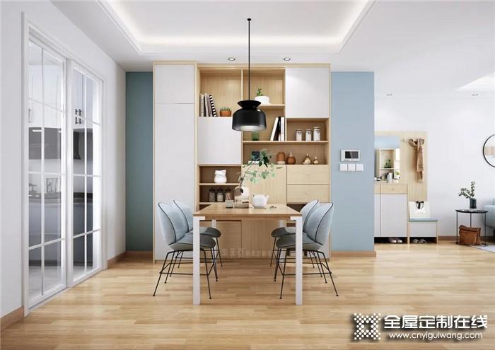 索菲亚全屋定制案例:北欧风三居室,103m²住得像130m²!