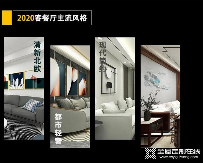 4大超高人气客厅风格,欧派带你解锁潮居软装新趋势