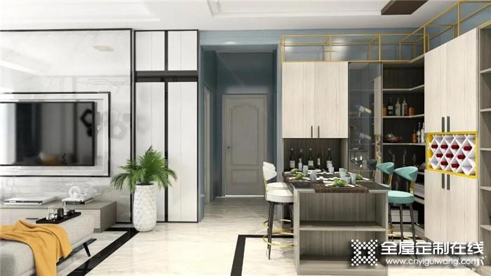 德维尔定制案例:三房两厅110 ㎡现代简约设计,每1㎡都是美到极致!