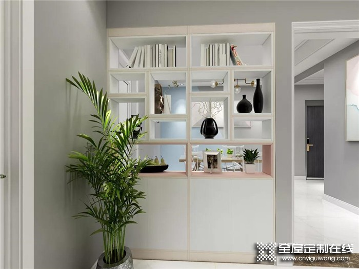 诗尼曼带你看2020流行的隔断柜设计,装完家里瞬间多了10㎡!