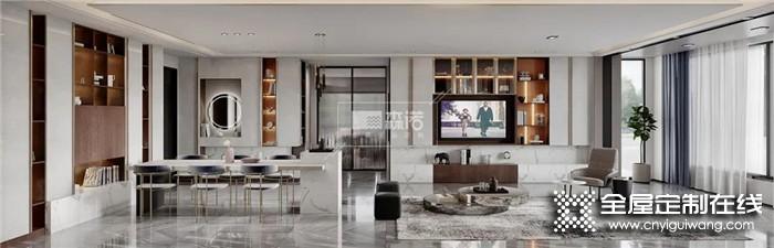 高级灰+木色搭配哦,森诺为你打造高质感的客厅空间