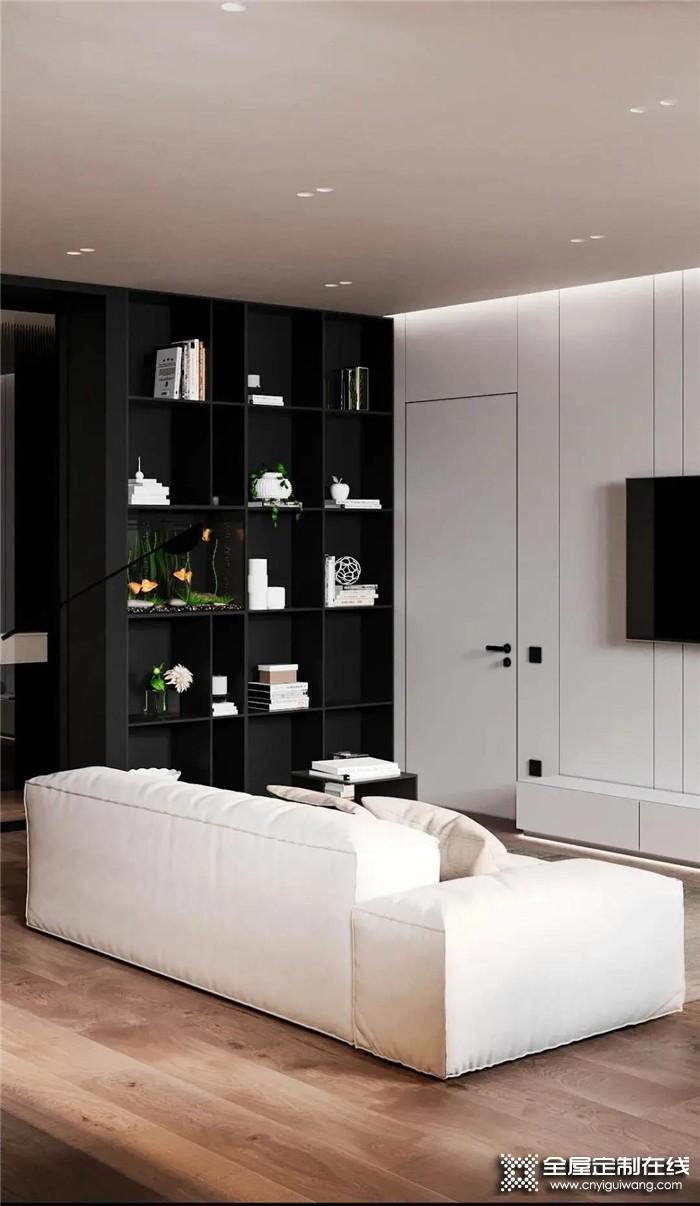 高级灰+木色搭配哦,森诺为你打造高质感又具有生活气息的客厅空间