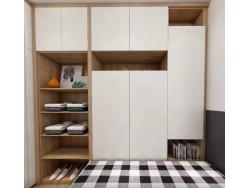 福建福州全屋定制衣橱柜北欧风格衣柜华柜家具整体橱柜定制