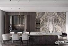 欧陆春秋轻奢风格家装设计方案,高级灰低调且华丽 (1257播放)