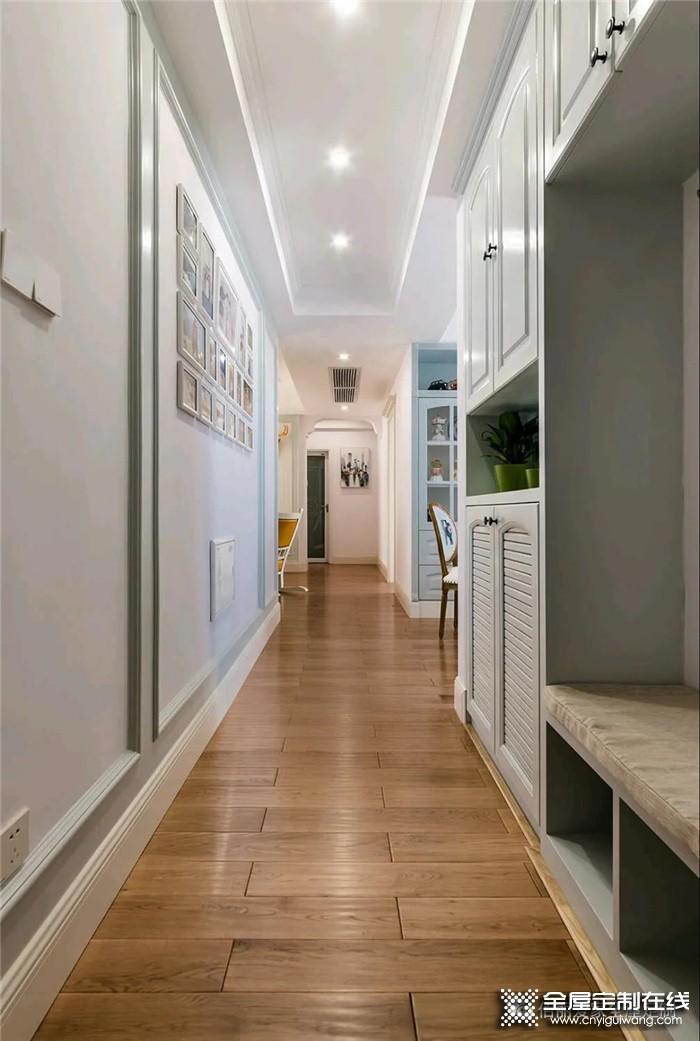 佰丽爱家案例:100㎡设计新颖的美式风两室两厅
