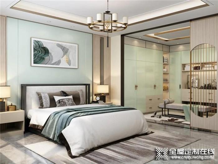 诗尼曼教你的3个家具布置小妙招,马上让你的卧室增大5平米