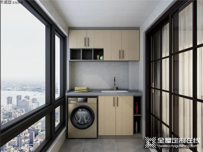 卡诺亚设计案例:80㎡的现代三房空间