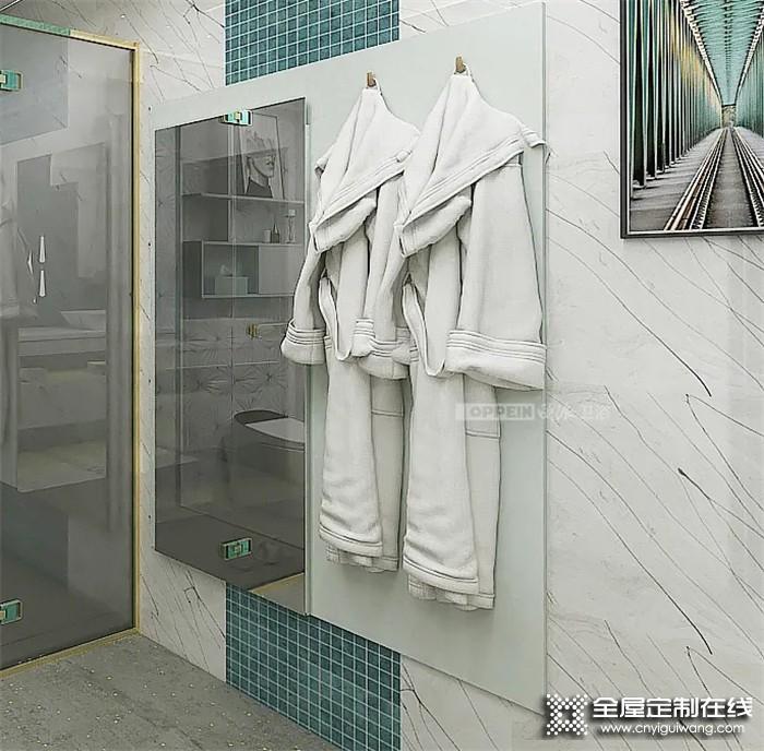 """欧派打造的轻奢卫生间,来欣赏一下""""别人家""""的神仙卫浴"""