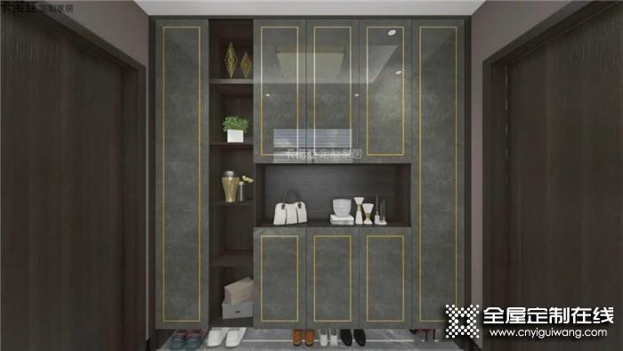 卡诺亚定制柜,让灰色展示独特的高级感