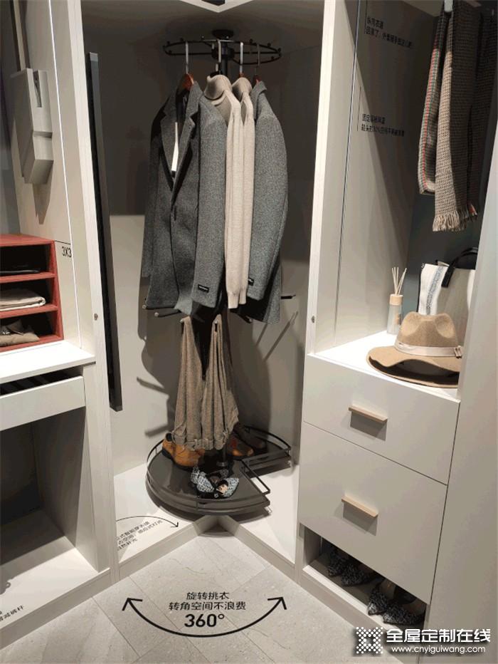 欧派博纳精深5.0衣帽间系统,为你打造梦想衣柜空间