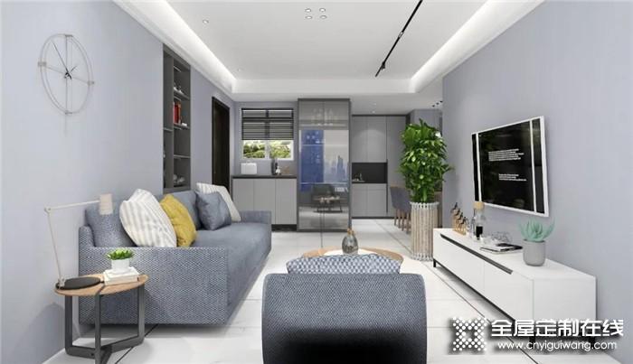 德维尔设计的110㎡现代简约风三房两厅,这样装20年都不过时!
