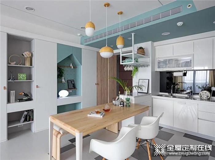 佰丽爱家98平米北欧风2室案例,带你感受充满自然元气的家!