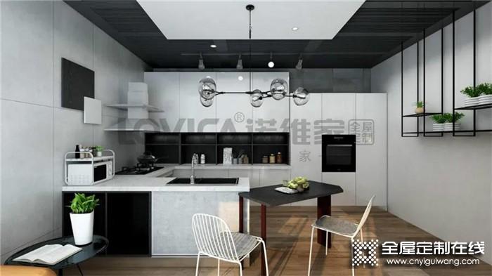 诺维家这几款厨房设计,看看有没有令你心动的