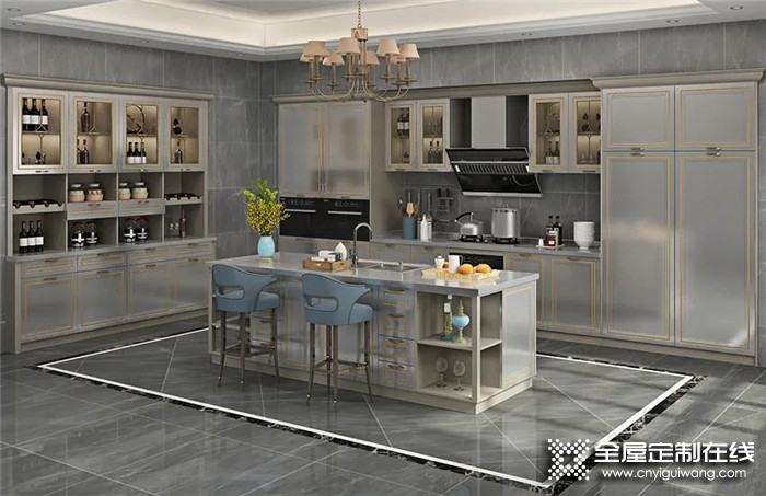 亚丹香颂系列不锈钢橱柜,满足你对厨房的所有期待