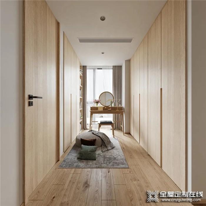 木饰面+极简白,欧陆春秋打造宁静优雅的设计格调!