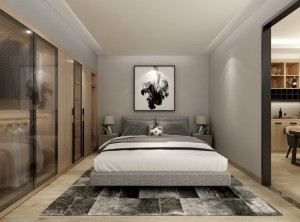 AI家居追梦时光系列图片,卧室装修效果图