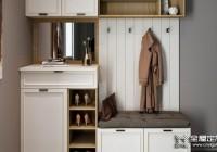 用全屋定制来设计入室鞋柜,门口再也不会乱