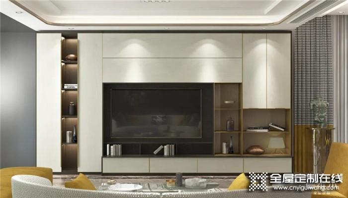 客厅要不要装电视柜?德维尔用11套设计案例告诉你!