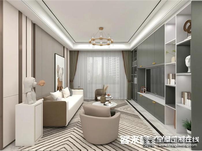 2021开年,这样一套客来福新中式风格装修火爆全霸都