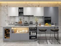 万格丽不锈钢厨柜-和澈系列