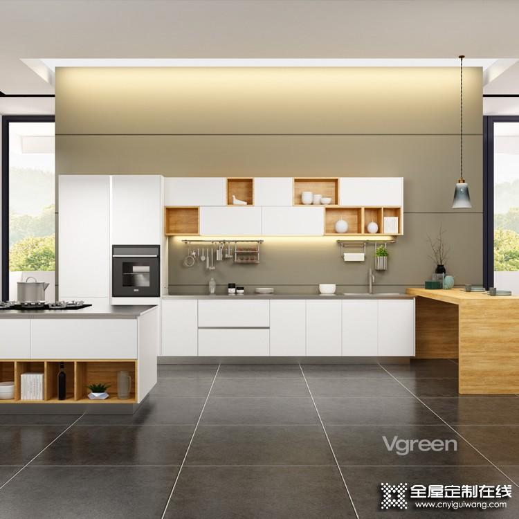 万格丽不锈钢厨柜2021装修效果图