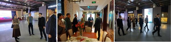 全度定制家居总经理陈长华一行到兔宝宝、莫干山参观交流