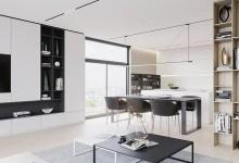 梵尼亚简约风格家装设计,让家居更显时尚大气