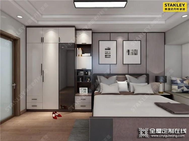 史丹利家居:10款卧室衣柜设计案例分享
