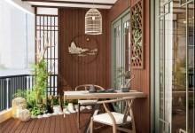 诗尼曼新品首发,一茶一室主题阳台系列,享受都市里的慢时光!